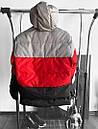 Чоловіча 3х-кольорова утеплена куртка, зима-осінь, фото 3