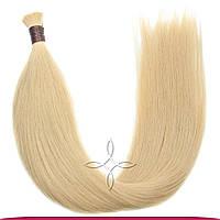 Натуральные славянские волосы в срезе 55-60 см 100 грамм, Пшеница №22B