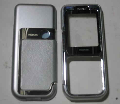Корпус для Nokia 7360 серый, фото 2