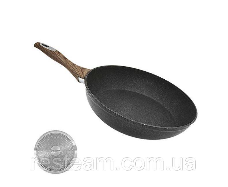 """Сковородка антипригар 26 см индукция """"Wooden"""""""