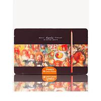 Цветные карандаши MARCO (Марко) Renoir Fine Art 36-ТN, Подарочный набор 36 цветов