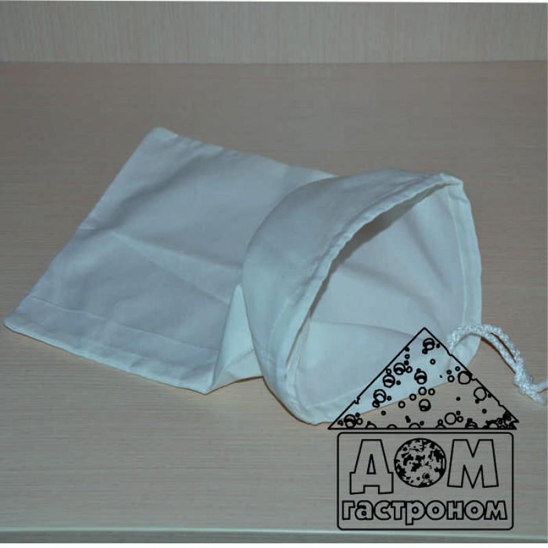 Лавсановый мешочек для сыра и творога (средний) на 4 л