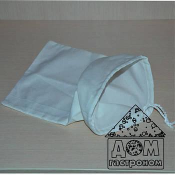 Лавсановый мешочек для сыра и творога (средний) на 6 л