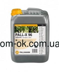 Pallmann Pall-X 96 1K водный высокостойкий объектный паркетный лак полуматовый 5л