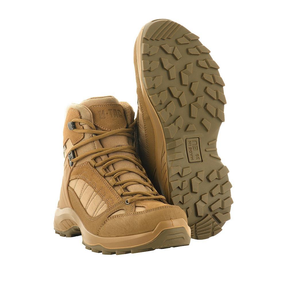 M-Tac ботинки тактические демисезонные Coyote 36