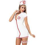 Обтягивающий халат медсестры, фото 2