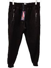 Брюки теплые Rowinger на манжетах зимние мужские спортивные штаны велюр