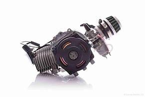 Двигун міні ATV Мінібайк 2Т 50сс редуктор №2 карбюратор нулевик