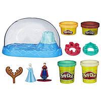 Плей-До игровой набор пластилина Холодное сердце, снежный купол