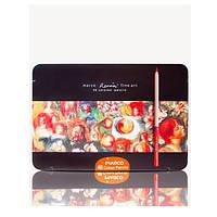 Цветные карандаши MARCO (Марко) Renoir Fine Art 48ТN, Подарочный набор 48 цветов