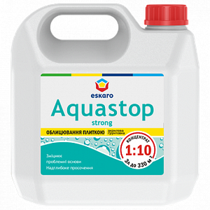 Aquastop Strong Зміцнююча глибокопроникаюча грунтовка-концентрат