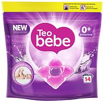 Капсулы для стирки Teo bebe Cotton Soft caps Sensitive 14 шт (3800024045783)