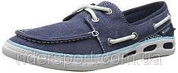 Женские мокасины  Columbia  Vulc N Vent Boat Canvas Shoe