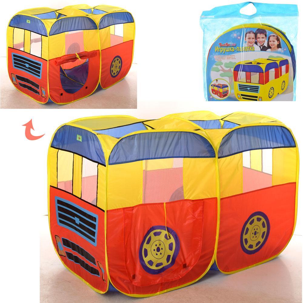 """Детская игровая палатка """"Автобус"""" (M 3747)"""