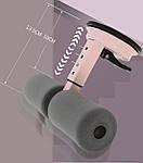 Тренажер для пресса напольный универсальный Adna Press на присосках тренажер для дома розовый лучше чем диета, фото 7
