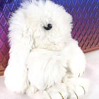 Кролики брелок с мехом 18 см