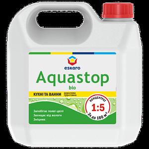 Aquastop Bio Антигрибкові грунтовка концентрат від цвілі зміцнююча водно-дисперсійна