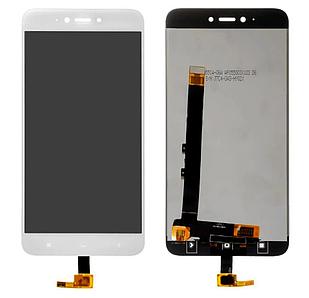 Модуль для Xiaomi Redmi Note 5A, белый, дисплей + сенсор