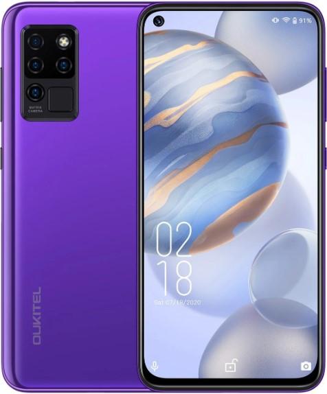 Oukitel C21 4/64Gb Purple Гарантия 1 Год