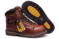Мужские ботинки Сaterpillar коричневые