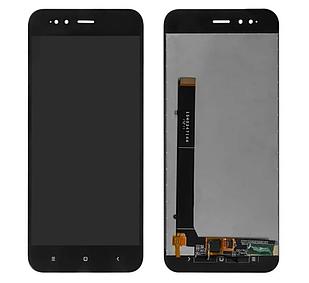 Модуль для Xiaomi Mi 5X, Mi A1 черный, дисплей + сенсор