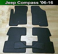 Килимки Jeep Compass '06-16, фото 1