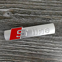 3D эмблема S-LINE на решетку радиатора - матовая, фото 1