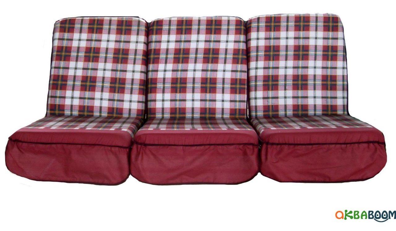 Комплект поролоновых подушек для садовой качели Арт. П-004, Подушка поролоновая, Украина