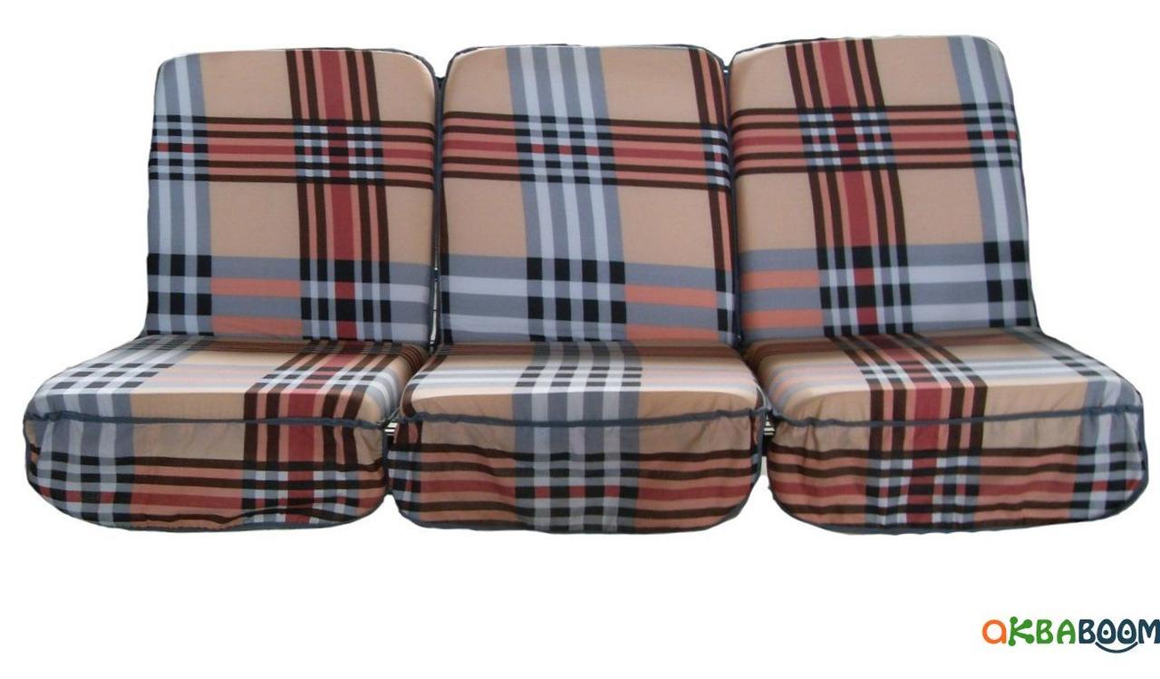 Комплект поролоновых подушек для садовой качели Арт. П-005, Подушка поролоновая, Украина