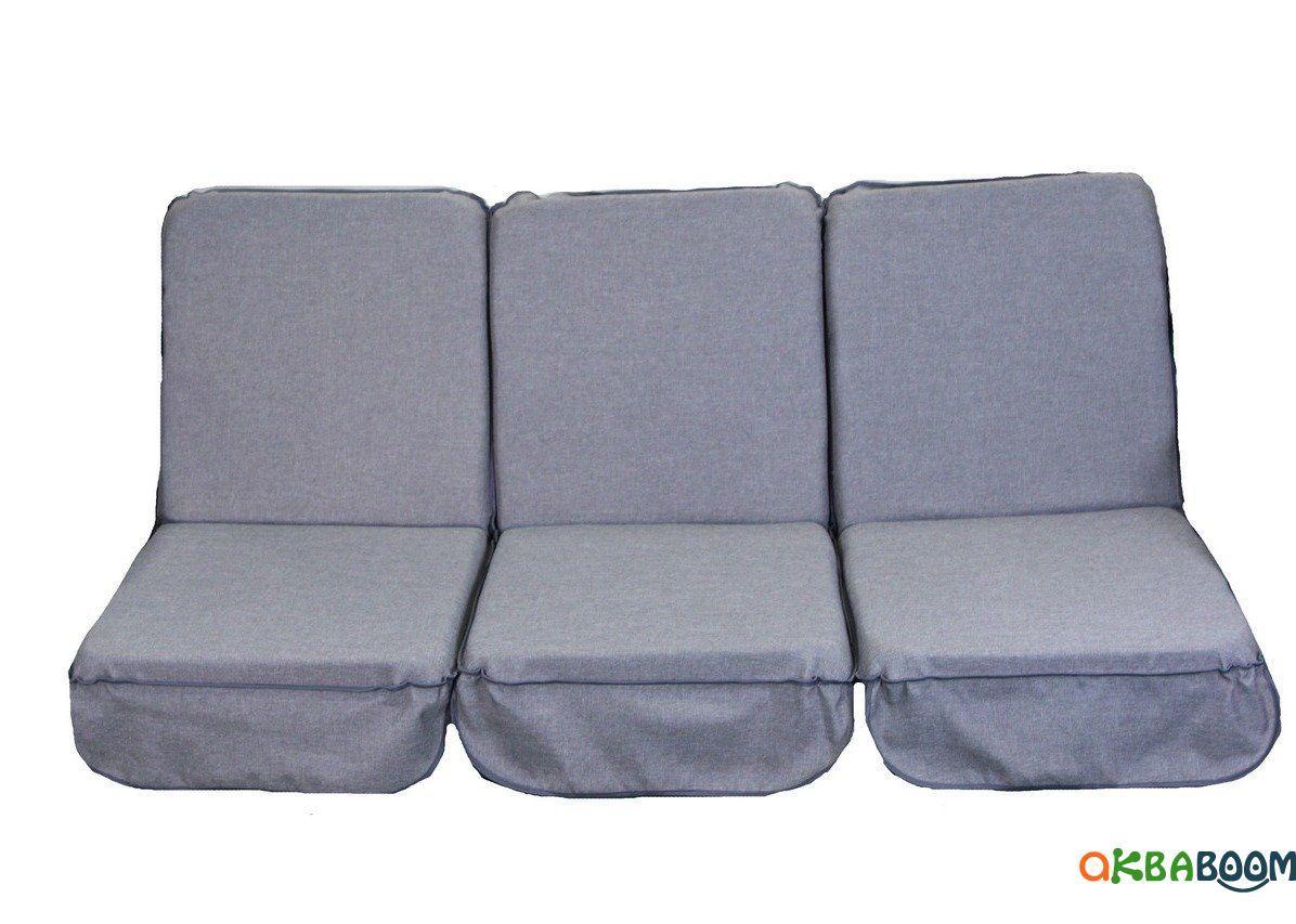 Комплект поролоновых подушек для садовой качели Арт. П-054, Подушка поролоновая, Украина