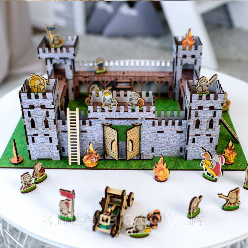 Деревянный замок-конструктор Nestwood Mini-1