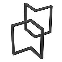 Опора для журнального стола из металла 424×240mm, H=450mm