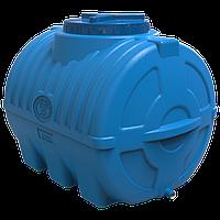 Емкость 200 литров горизонтальная трехслойная пищевая