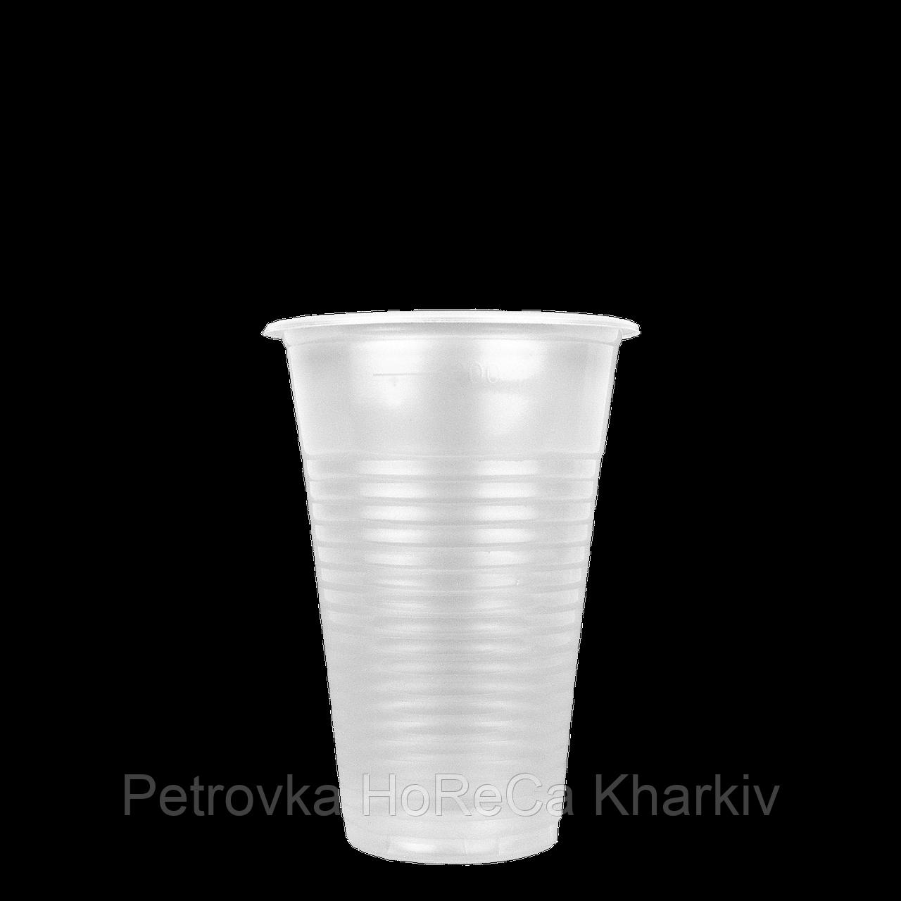 "Пластиковые стаканы 200мл ""Еxclusive"" 1уп/100шт"