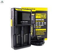 ЗУ Nitecore Digicharger D2 с LED дисплеем для Ni-Cd, Ni-Mh, Li-Ion, IMR аккумуляторов, фото 1