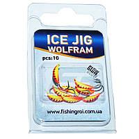 Мормышка вольфрамовая Банан Fishing ROI Ice Jig 0.44 г., 2.5 мм.