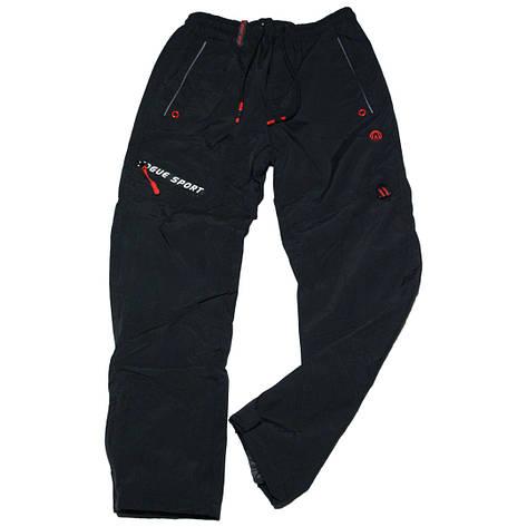 Зимові термоштани Crace для хлопчика 134-164 зросту чорні, фото 2