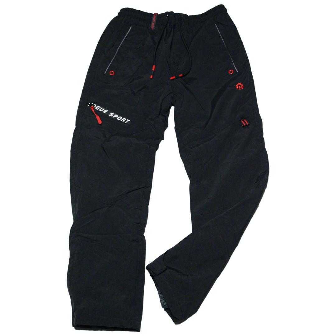 Зимові термоштани Crace для хлопчика 134-164 зросту чорні