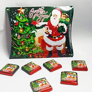 """Шоколадный набор """"С Новым Годом"""" (12 шоколадок)"""