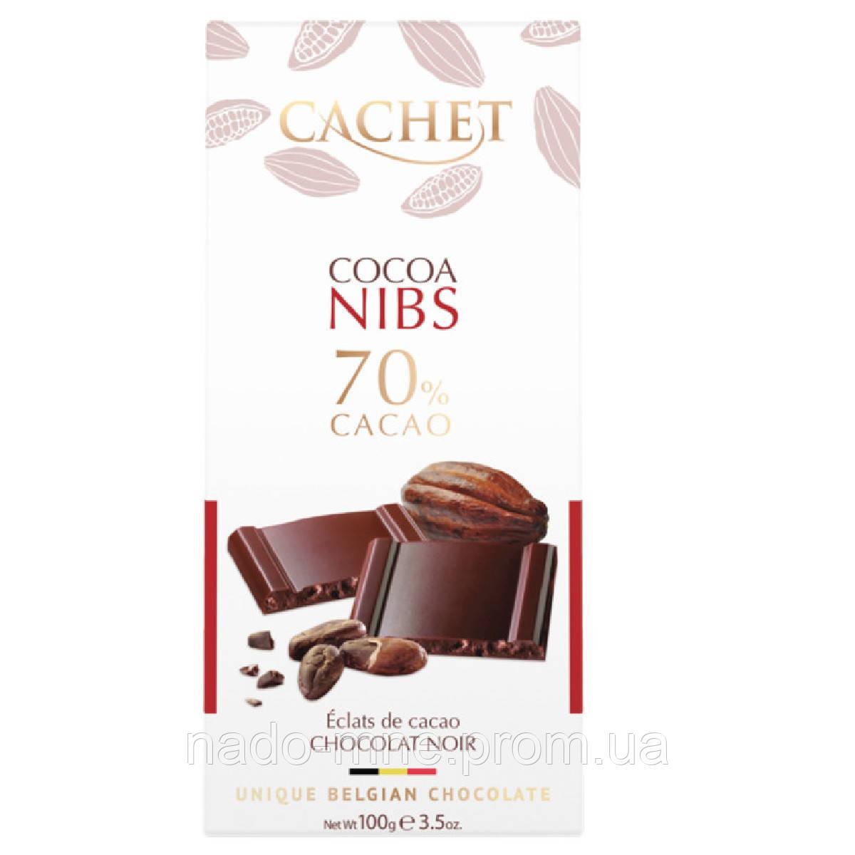 Шоколад Cachet Cocoa Nibs