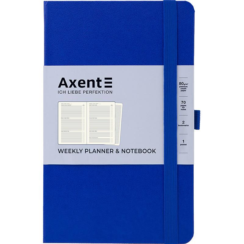 Еженедельник недатированный Axent Partner Strong 8602, A5-, 125x195 мм, 96 листов