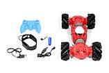 Машинка всюдихід - перевертень Climber Champions 2766 для трюків з керуванням жестами 18 х 30 см червона, фото 8
