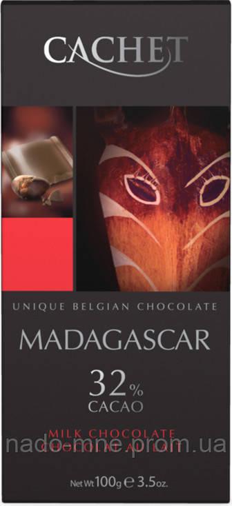 Шоколад Cachet Madagascar 32% Cacao