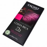 Шоколад Cachet Costa Rica 71% Cacao