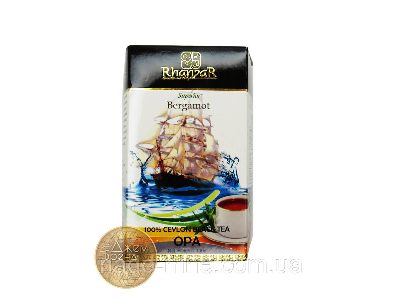 Чай Rhanzar Bergamot 100 гр.