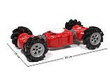 Машинка всюдихід - перевертень Climber Champions 2766 для трюків з керуванням жестами 18 х 30 см червона, фото 5