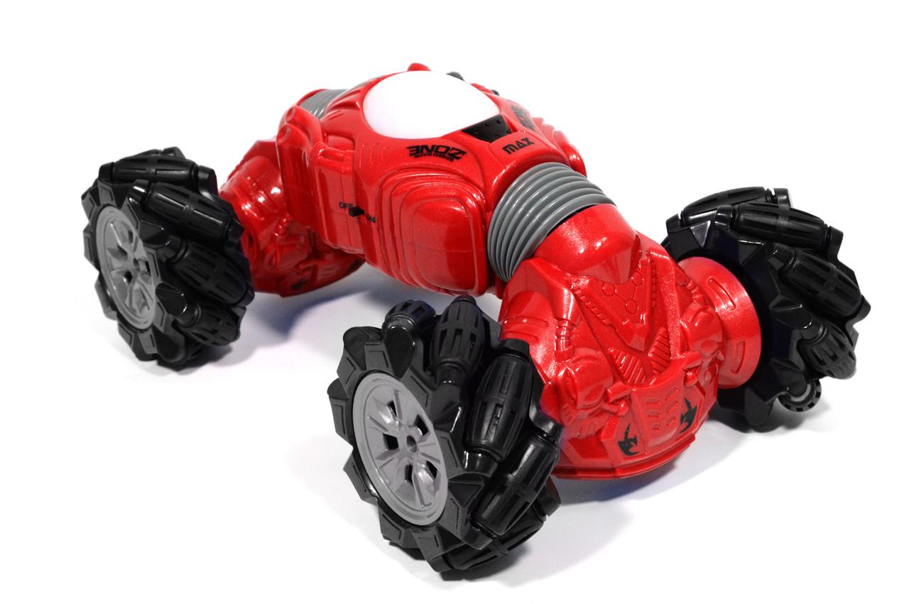 Машинка всюдихід - перевертень Climber Champions 2766 для трюків з керуванням жестами 18 х 30 см червона