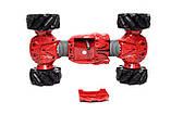 Машинка всюдихід - перевертень Climber Champions 2766 для трюків з керуванням жестами 18 х 30 см червона, фото 7