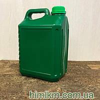 Канистра пластиковая зеленая 5 литров