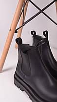 Женские полуботинки черные, фото 2